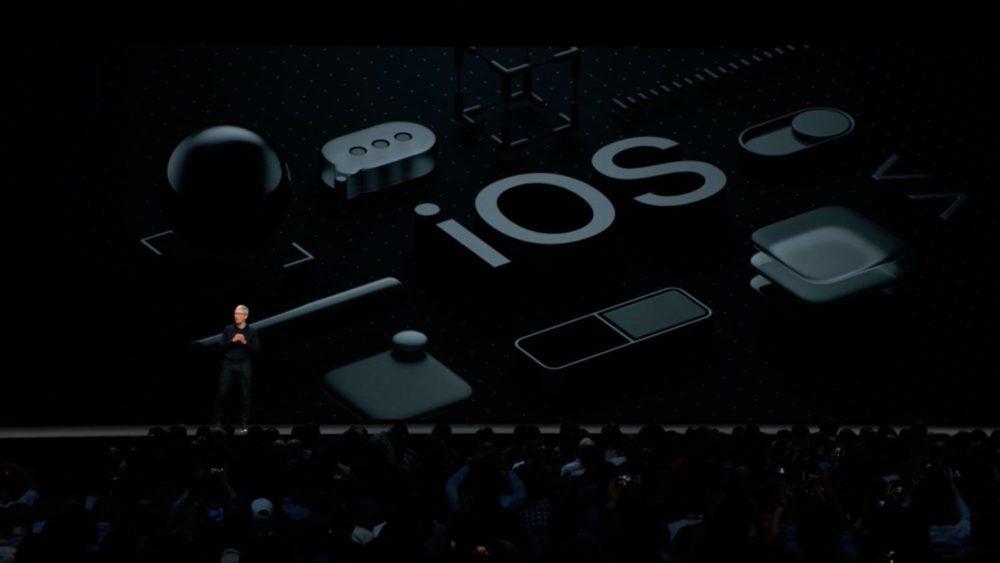 WWDC 2018 iOS 12 1000x563 iOS 12 : voici la liste des nouveautés mises sur le tapis par Apple