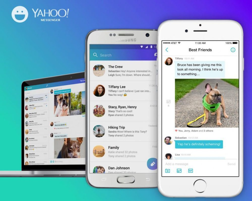 Yahoo Messenger Mac iPhone 1000x797 Yahoo Messenger va fermer ses portes le 17 juillet prochain