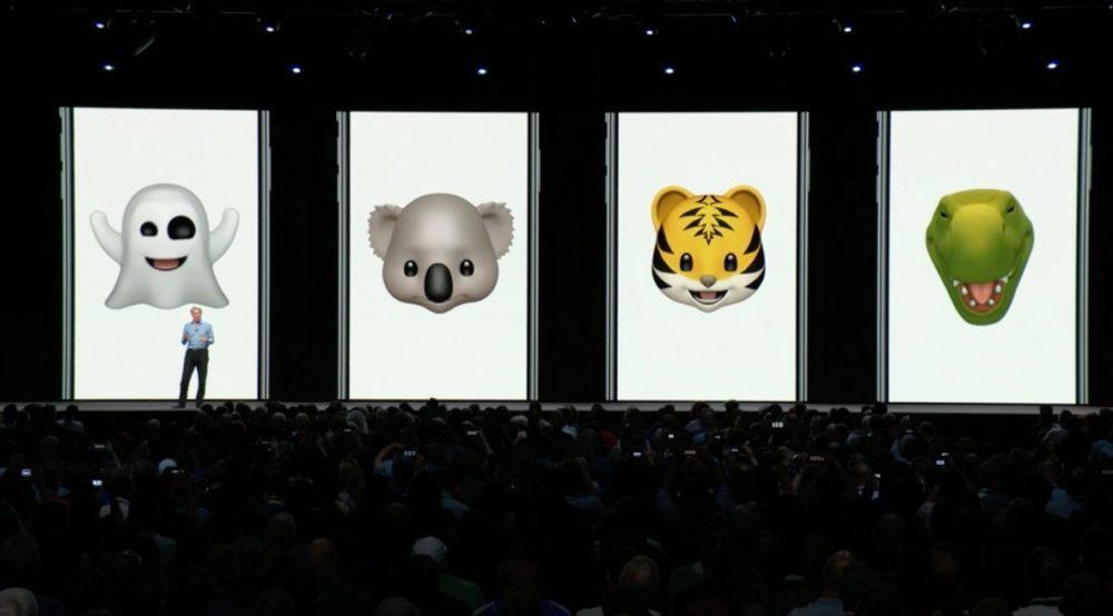 iOS 12 Animoji 1000x554 iOS 12 : voici la liste des nouveautés mises sur le tapis par Apple
