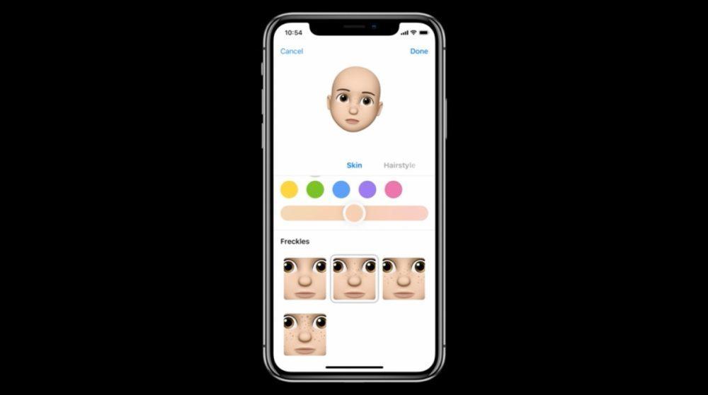 iOS 12 Emoji 2 1000x559 iOS 12 : voici la liste des nouveautés mises sur le tapis par Apple