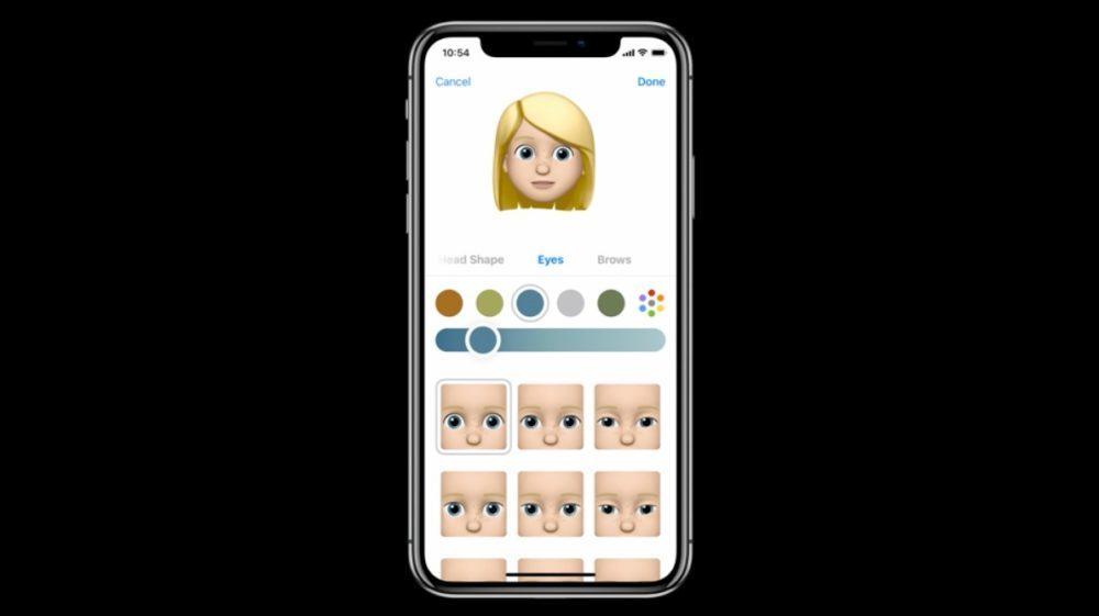 iOS 12 Emoji 3 1000x561 iOS 12 : voici la liste des nouveautés mises sur le tapis par Apple