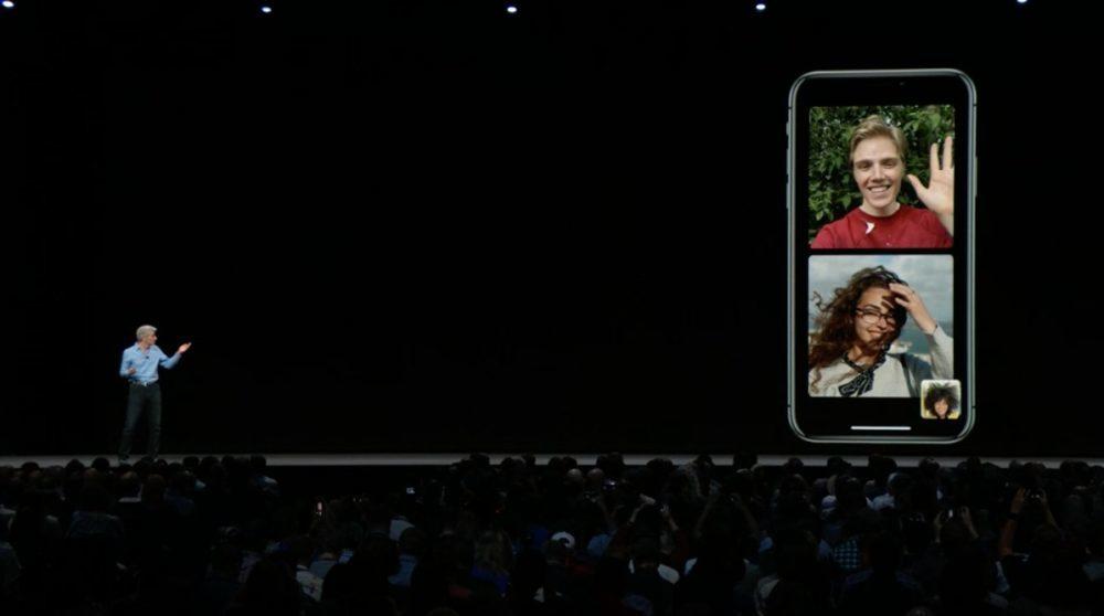 iOS 12 FaceTime 1000x558 iOS 12 : voici la liste des nouveautés mises sur le tapis par Apple