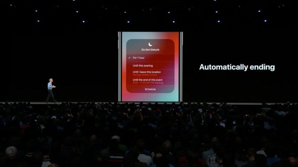iOS 12 Ne Pas Deranger 1000x560 iOS 12 : voici la liste des nouveautés mises sur le tapis par Apple