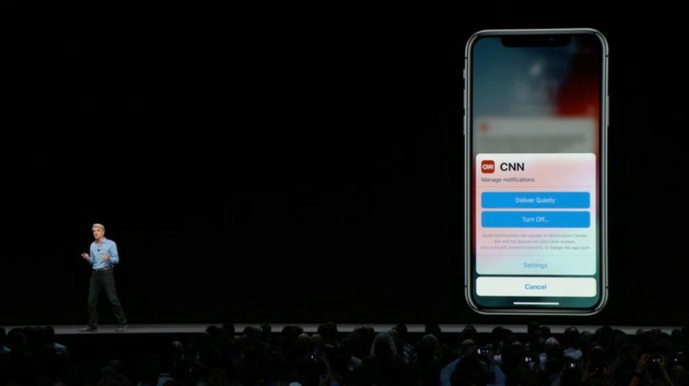 iOS 12 Notifications 1000x560 iOS 12 : voici la liste des nouveautés mises sur le tapis par Apple