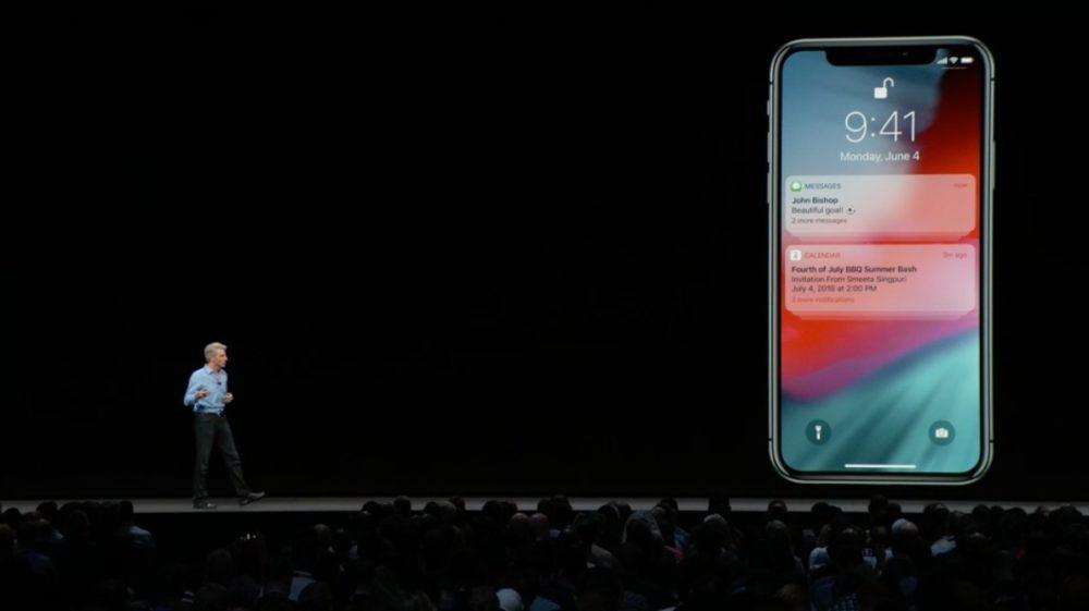 iOS 12 Notifications 12 1000x561 iOS 12 : voici la liste des nouveautés mises sur le tapis par Apple