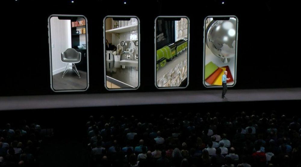 iOS 12 Realite Augmentee 1000x556 iOS 12 : voici la liste des nouveautés mises sur le tapis par Apple