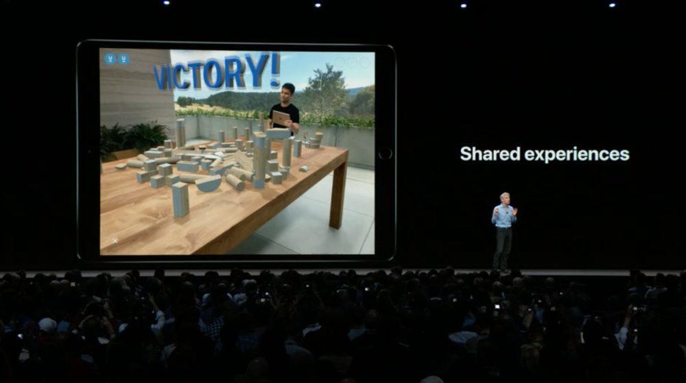 iOS 12 Realite Augmentee Jeux 1000x559 iOS 12 : voici la liste des nouveautés mises sur le tapis par Apple