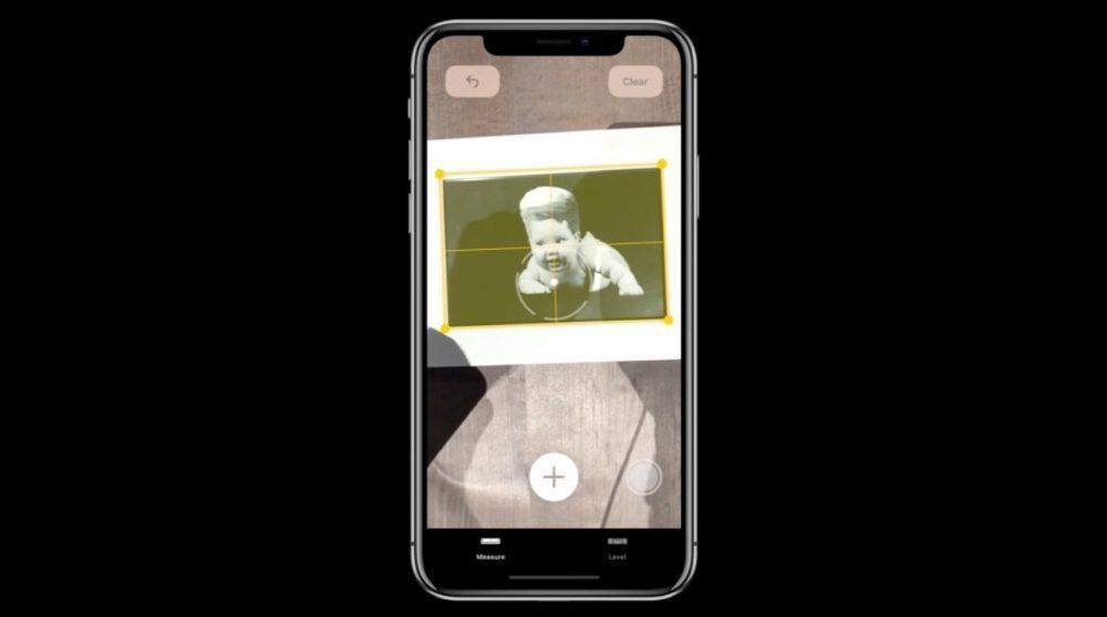 iOS 12 Realite Augmentee Measure Photo 1000x558 iOS 12 : voici la liste des nouveautés mises sur le tapis par Apple