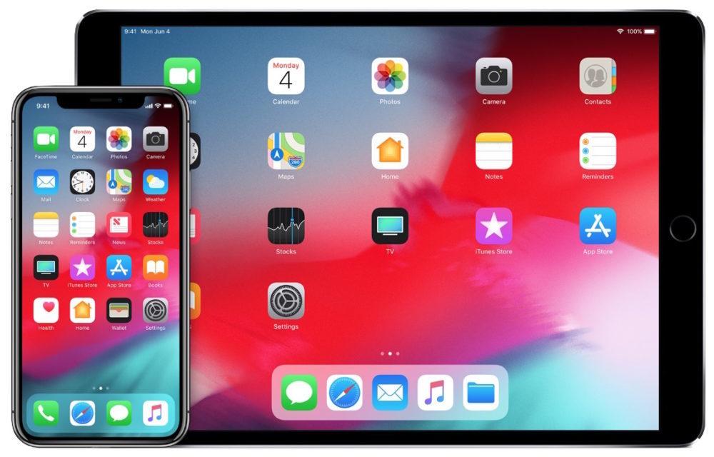 iOS 12 iPhone X iPad 1000x640 iOS 12 bêta 4 version publique est disponible au téléchargement