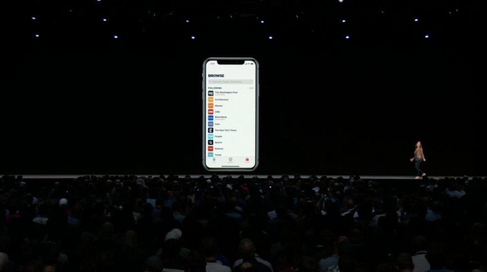 iOS Bourse News Apple 1000x559 iOS 12 : voici la liste des nouveautés mises sur le tapis par Apple