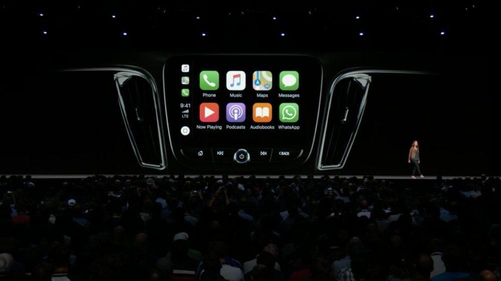 iOS Car Play 1000x561 iOS 12 : voici la liste des nouveautés mises sur le tapis par Apple