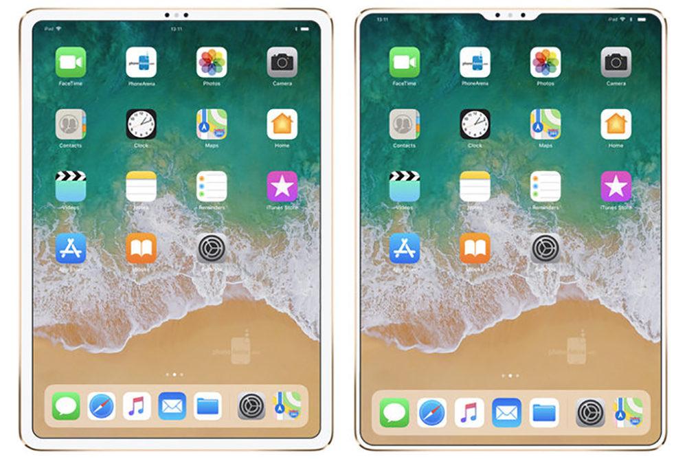 iPad Pro Face ID Encoche 1000x668 Vers un iPad Pro 2018 avec Face ID et dépourvu d'encoche ?