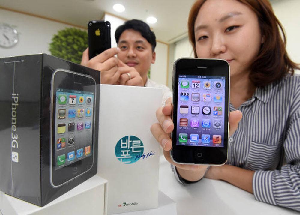 iPhone 3GS Revente 2018 1000x717 Insolite : l'iPhone 3GS sera remis en vente par un opérateur en Corée