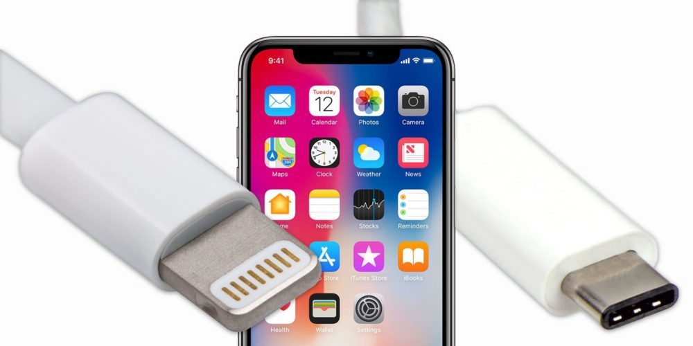 iPhone X Lightning USB C 1000x500 Et si les iPhone de 2019 abandonnaient le port Lightning au profit de l'USB C ?