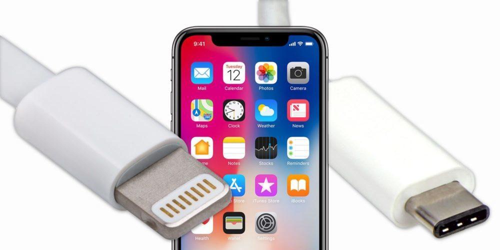 iPhone X Lightning USB C 1000x500 Et si les iPhone de 2019 abandonnaient le port Lightning au profit de l'USB C ?