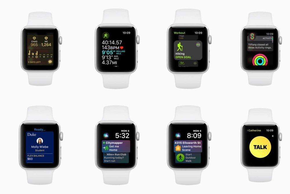 watchOS 5 Apple Watch 1 1000x669 La première bêta de watchOS 5 est de nouveau disponible