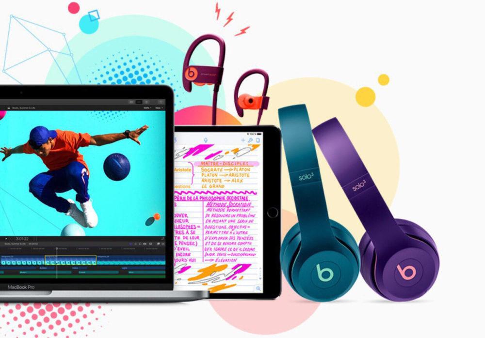 Apple Education Mac iPad Pro Beats 1000x698 Apple offre un casque Beats aux étudiants lors de l'achat d'un Mac ou d'un iPad Pro