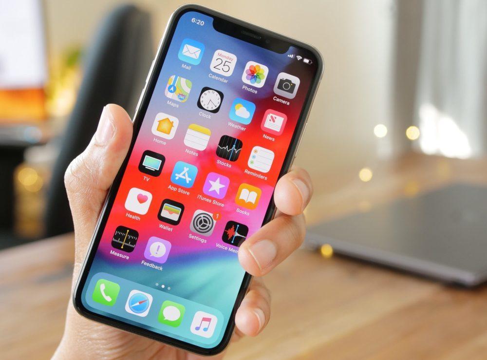 Apple iPhone X iOS 12 1000x739 iOS 12 bêta 8 développeurs est relâchée par Apple