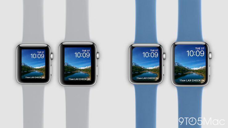 Concept Apple Watch Series 4 Voici à quoi pourraient ressembler l'iPad Pro Face ID et l'Apple Watch Series 4