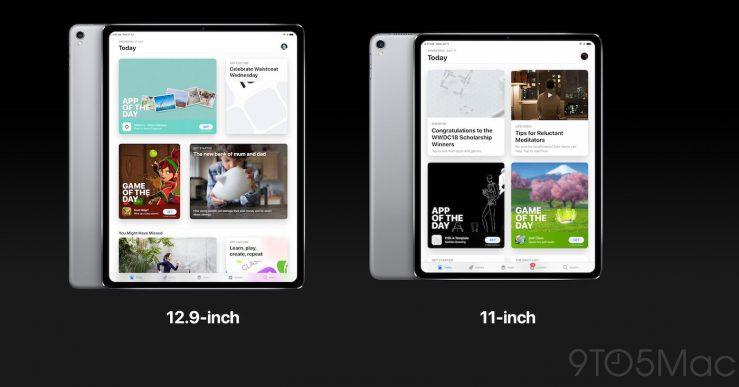 Concept iPad Pro Face ID 2018 Voici à quoi pourraient ressembler l'iPad Pro Face ID et l'Apple Watch Series 4