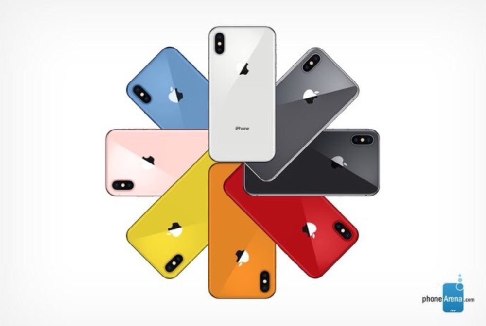 Concept iPhone de 2018 Coloris 2 1000x672 Concept : voici les supposées couleurs des prochains iPhone de 2018