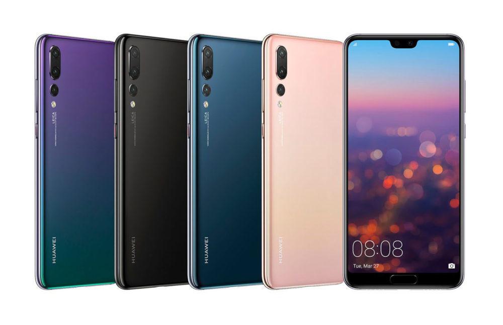Huawei P20 Pro 2 1000x646 Huawei veut rattraper Apple et vendre 200 millions de smartphones pour 2018