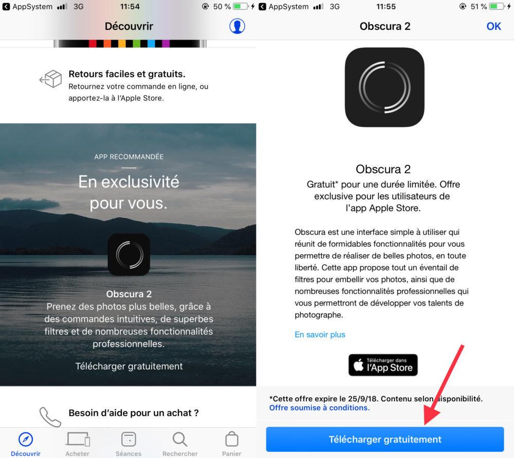 Obscura 2 Telechargement 1 1000x892 L'application Obscura 2 est offerte gratuitement au téléchargement par Apple