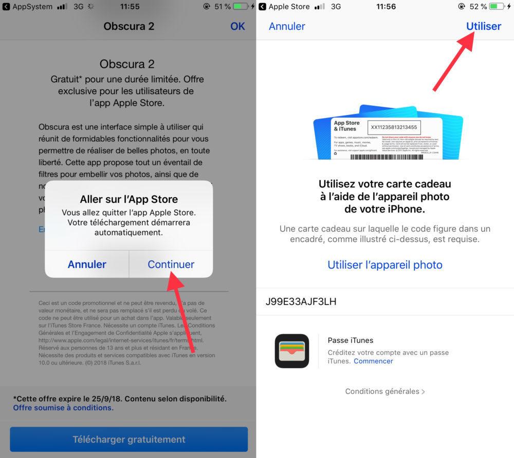 Obscura 2 Telechargement 2 1000x892 L'application Obscura 2 est offerte gratuitement au téléchargement par Apple