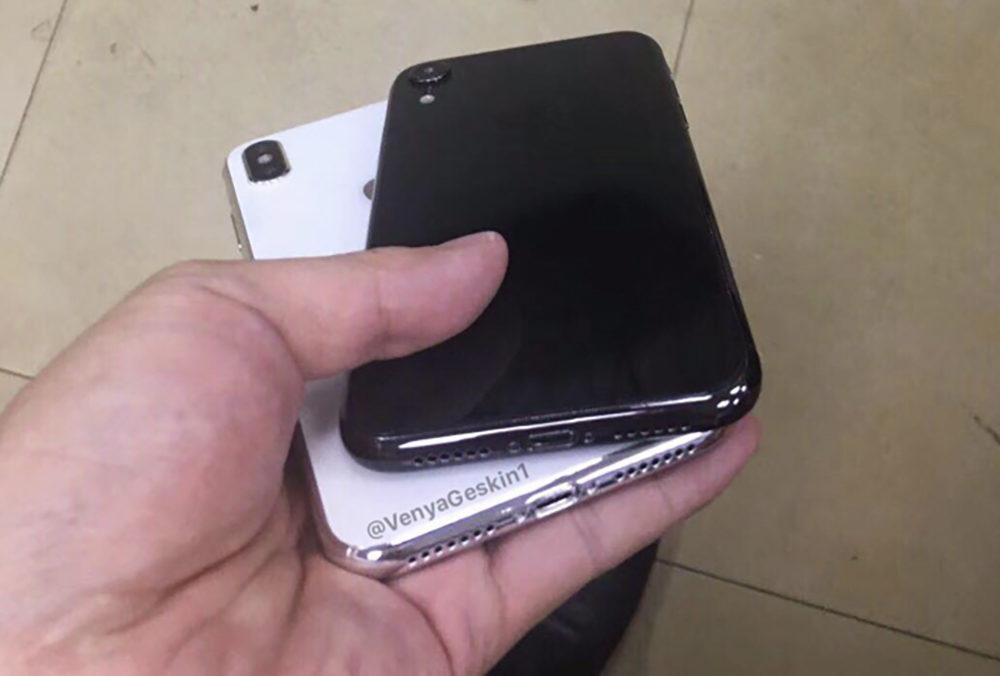 iPhone X Plus iPhone LCD 2018 1000x676 iPhone de 2018 : des images factices de certains modèles fuitent sur internet