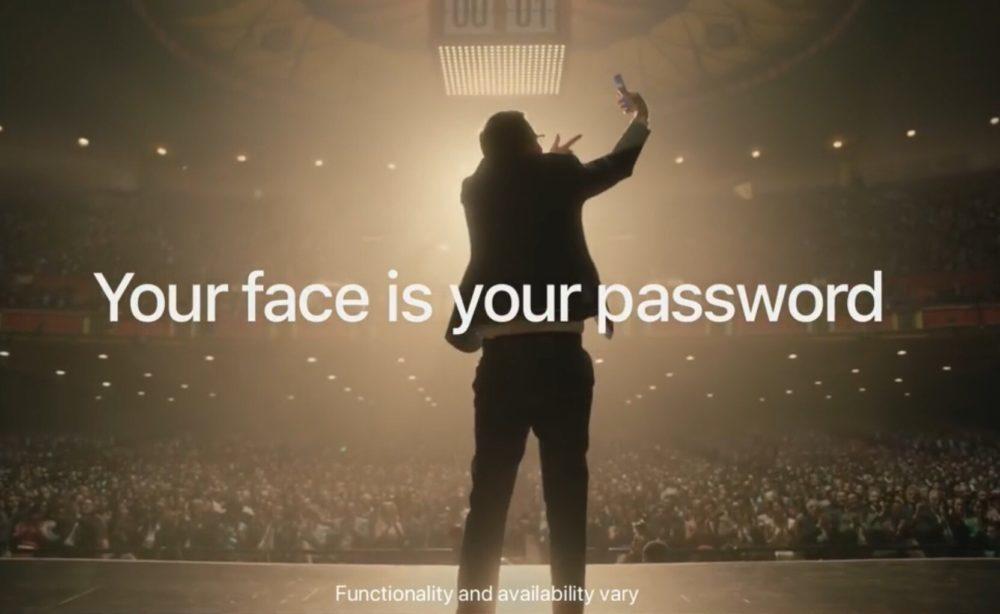 iPhone X Youtube Pub 1 1000x614 Une nouvelle pub humoristique pour chanter les louanges de Face ID sur iPhone X