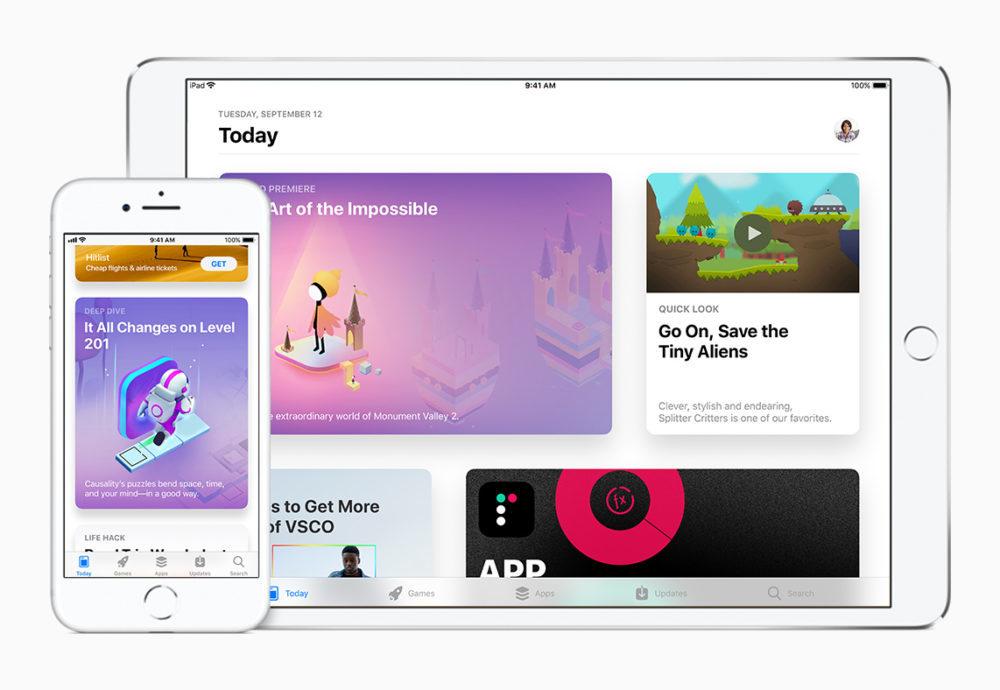 ios 11 app store apple 1000x690 10% de bonus sont offerts par Apple lorsque vous ajoutez des fonds sur votre compte