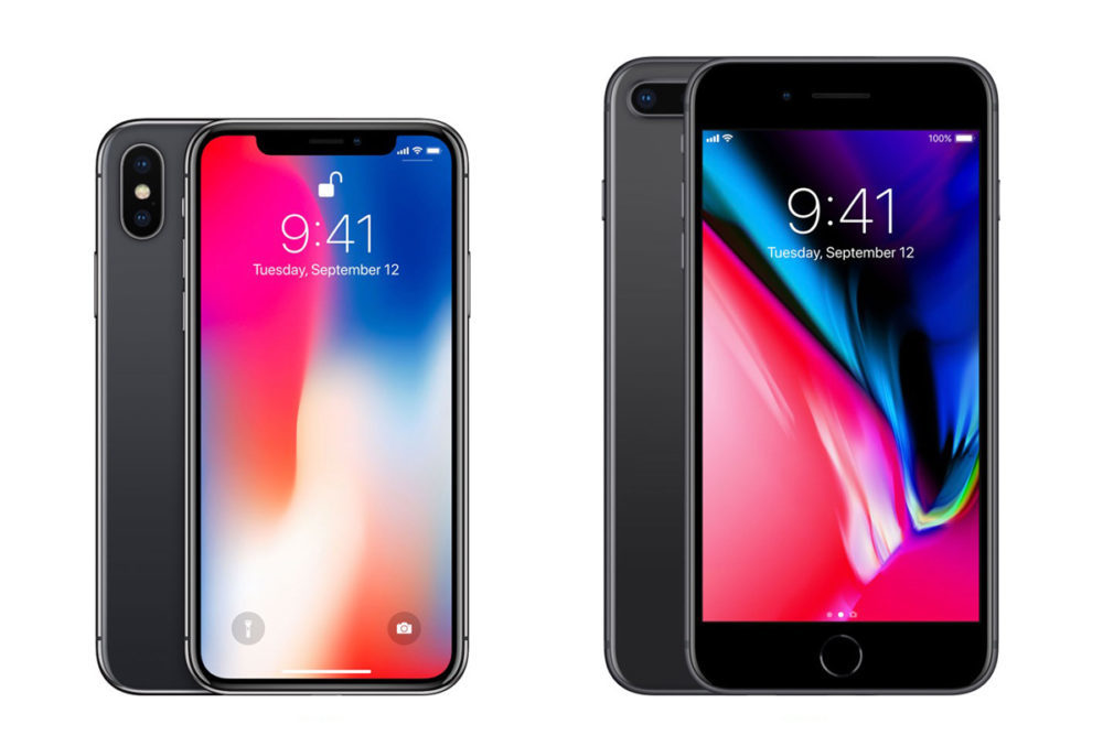 iphone x iphone 8 plus ventes 1000x667 L'iPhone 8 Plus est l'iPhone le plus vendu durant le Q2 2018