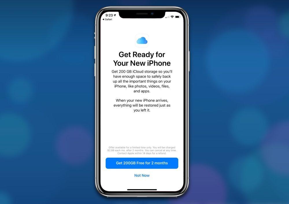 200 Go iCloud Gratuits 1000x706 2 mois gratuits de stockage iCloud de 200 Go offerts par Apple uniquement aux États Unis