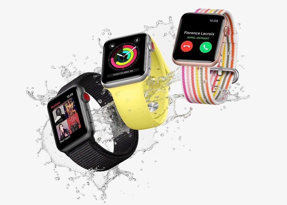 3 Apple Watch Series 3 1000x715 watchOS 7.0.3 disponible, bug de redémarrage des Apple Watch Series 3 corrigé