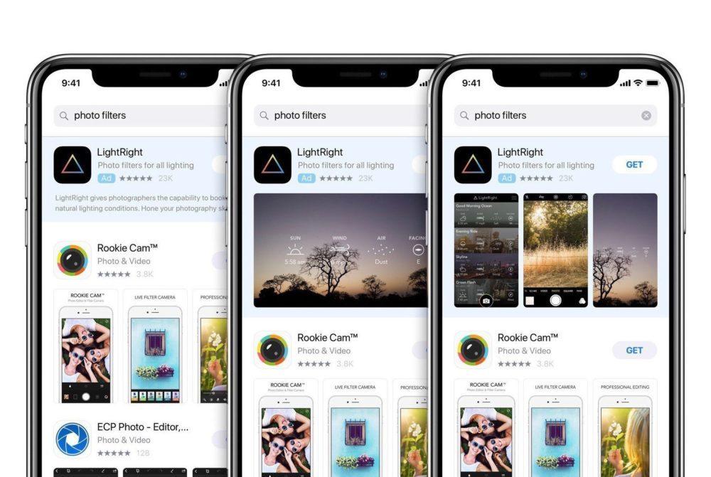 App Store Publicite iPhone X 1000x671 App Store : les publicités sont à présent proposées dans 46 pays