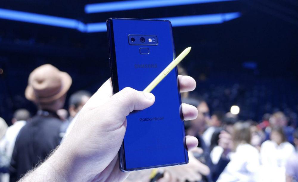 Samsung Galaxy Note 9 1000x611 Samsung met en avant son Galaxy Note 9 en se moquant de liPhone X