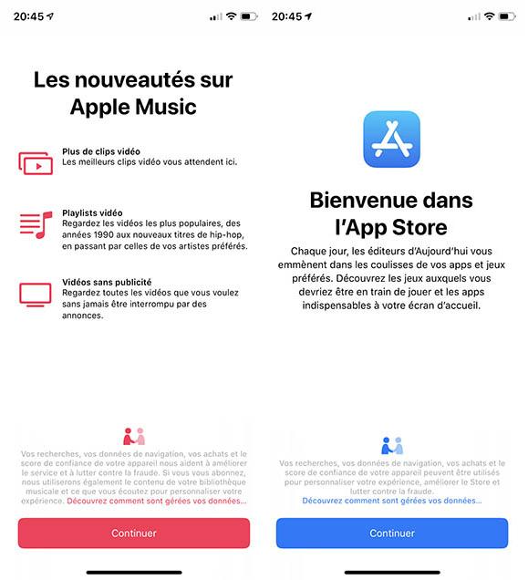 apple music app store ios 12 beta 6 Voici la liste des nouveautés diOS 12 bêta 6