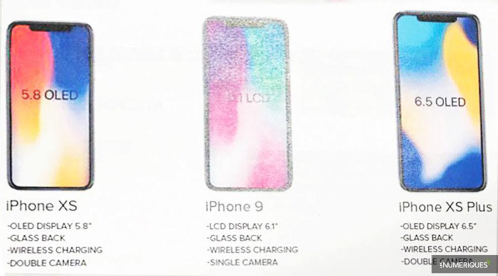 iphone 2018 modeles 1000x555 Les 3 modèles d'iPhone de 2018 sont confirmés, les noms sont connus