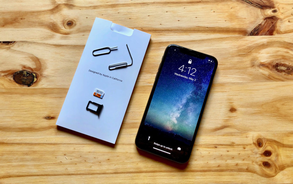 iphone x sim carte tiroir 1000x630 L'activation d'un iPhone ne nécessite plus lutilisation une carte SIM