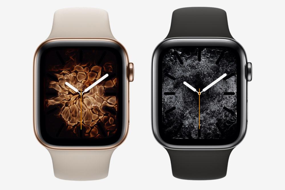 Deux Apple Watch Series 4 1000x667 Apple Watch Series 4 : une nouvelle publicité pour vanter la montre