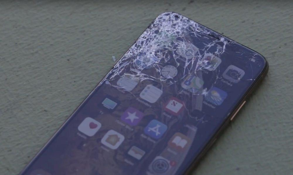 apple iphone xs xs max drop test 1000x598 Les iPhone XS et XS Max subissent un test afin de vérifier leur résistance aux chutes