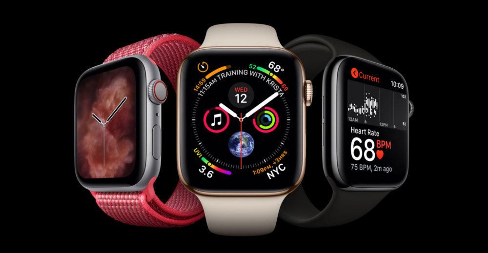 apple watch series 4 2 1000x519 L'Apple Watch Series 4 est disponible à la précommande