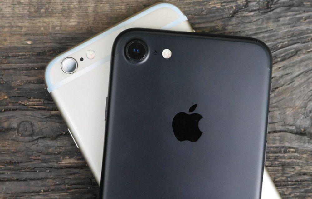 iPhone 6s iPhone 7 1000x637 Selon une recherche, liPhone 6s et liPhone 7 seraient les iPhone les plus utilisés