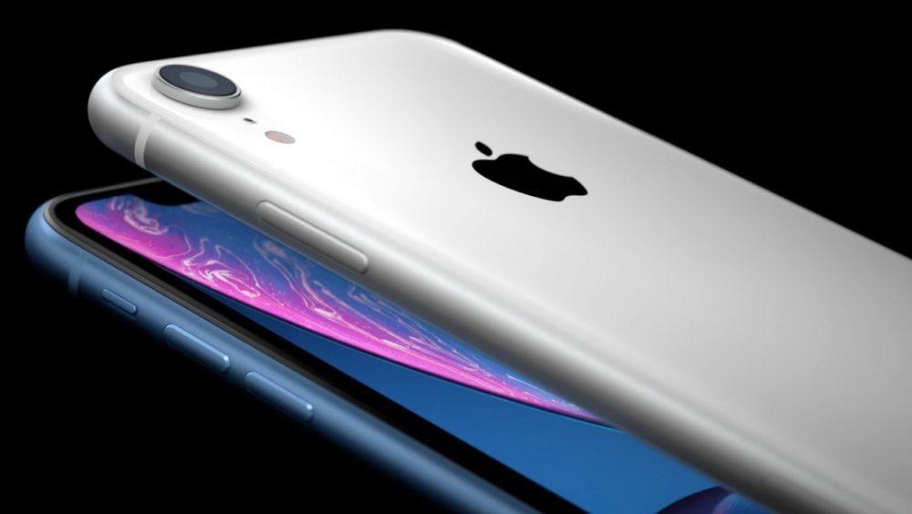 iPhone XR Bleu Argent 1000x564 Les premières publicités autour de liPhone XR font leur arrivée