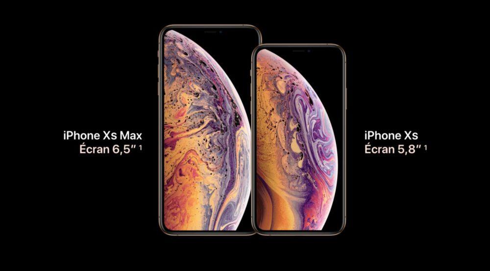 foto de L'iPhone Xs et l'iPhone Xs Max : caractéristiques, prix et date de ...