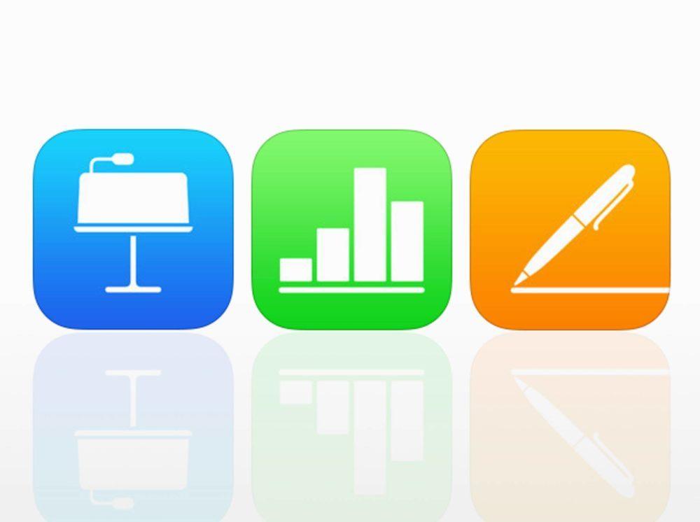 iWork Pages Keynote Numbers 1000x746 Apple met à jour sa suite iWork (Pages, Numbers et Keynote) sur iOS et macOS