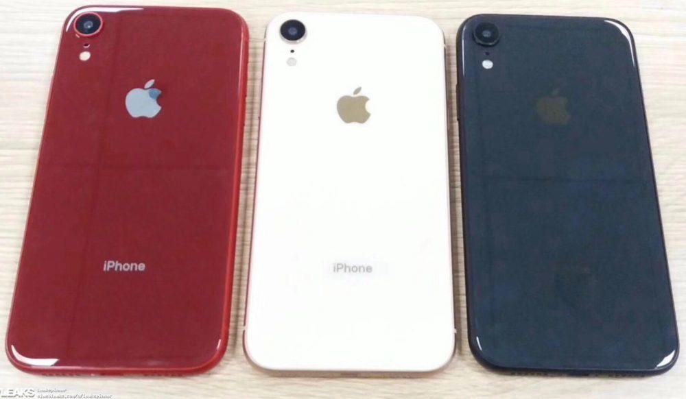 iphone xc 1000x582 L'iPhone LCD, appelé iPhone Xr, sera disponible en six coloris