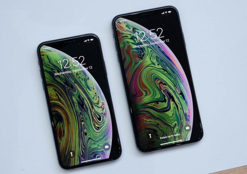 iphone xs et xsmax 1000x706 iPhone XS et iPhone XS Max : lautonomie est en dessous de celle de liPhone X