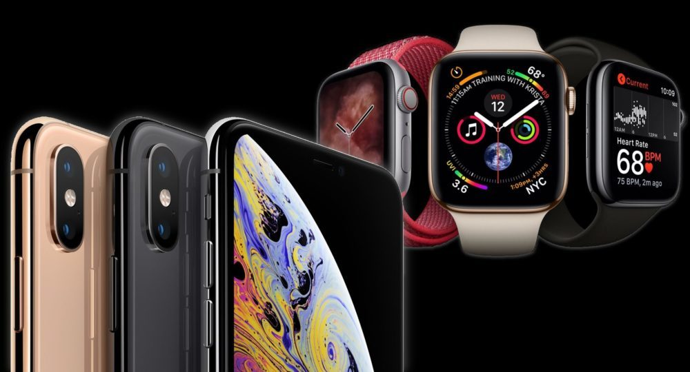 iphone xs watch series 4 1000x540 Contrairement à lApple Watch Series 4, les précommandes des iPhone XS ne sont pas au top