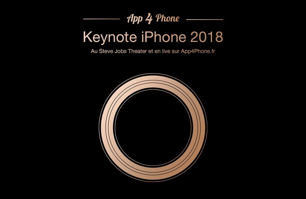 keynote app4phone iphone 2018 Le Live Keynote iPhone Xs/Xr d'App4Phone à suivre dès 18h30